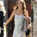 Jennifer Love Hewitt - At a private party in LA, 27.01.2011.