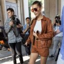 Bella Hadid – Leaving the Tod's Fashion Show in Milan