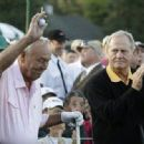 Arnold with Jack Nicklaus at the 2010 Masters