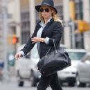Claire Holt – Out and about in New York City - 454 x 682