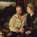 Alan Van Sprang and Megan Follows