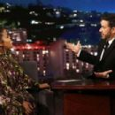 Yvette Nicole Brown at Jimmy Kimmel Live! in Los Angeles - 454 x 303