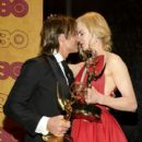 Keith Urban and Nicole Kidman : 69th Annual Primetime Emmy Awards - Press Room