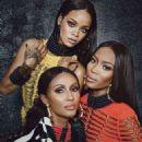 Rihanna Naomi Campbell Iman W Magazine September 2014