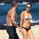 Bikini Clad Megan Fox & Brian Austin Green's Hawaiian Holiday