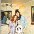 Johnny Ramone and Linda Ramone