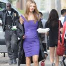 AnnaLynne McCord On The Set Of 90210 November 27, 2012