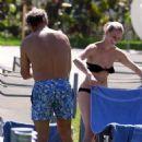 Kelsey Grammer & Kayte Walsh: Poolside Lovers