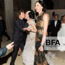 L'Wren Scott and Mick Jagger at 2011 MET Costume Institute Gala - 454 x 302
