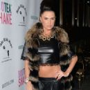 Katie Price Bootea Shake Drinks Launch At The Sanctum Soho Hotel In London