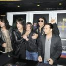 Tommy Thayer, Gene Simmons, Paul Stanley and Eric Singer at the
