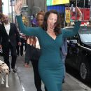 Fran Drescher – Leaves 'Good Morning America' in NY - 454 x 666