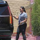 Demi Lovato – Leaves the gym in LA