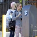 Brie Larson – Heads to a yoga class in Los Angeles