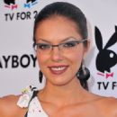 "Adrianne Curry arrives to Playboy TV's ""TV for 2"" 2011 TCA event on July 27, 2011 in Los Angeles, California"