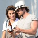 Nikki Reed and Ian Somerhalder out in Venice - 454 x 641