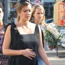 Jessica Alba at her baby shower in Beverly Hills