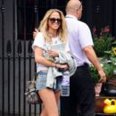 Sarah Harding: in North London