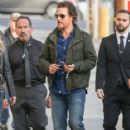 Matthew McConaughey visits 'Jimmy Kimmel Live' Hollywood Ca January 24, 2017 - 417 x 600