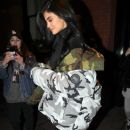 Kylie Jenner is spotted stepping out for the night in New York City, New York on January 16, 2017