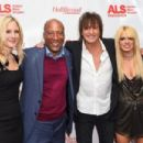 Richie Sambora and Orianthi attend ALS Golden West Chapter Hosts Champions For Care And A Cure at The Fairmont Miramar Hotel & Bungalows on December 2, 2017 in Santa Monica, California - 454 x 303