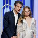 Timothy Olyphant and Drew Barrymore At The 74th Golden Globe Awards (2017)
