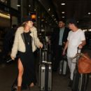 AnnaLynne McCord is seen at LAX on May 5, 2016