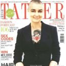 Sinéad O'Connor - Irish Tatler Magazine Cover [Ireland] (12 August 2012)