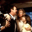Dan Aykroyd, Kim Basinger and Alyson Hannigan in My Stepmother Is an Alien (1988)