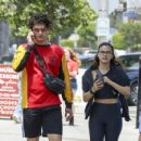 Camila Mendes and Charles Melton – Out in LA 06/05/2019 - 454 x 426