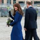 Catherine, Duchess of Cambridge, Prince William Windsor visit Dundee on October 23, 2015 - 402 x 600