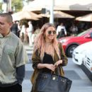 Ashlee Simpson and Evan Ross – Holiday Shopping in Beverly Hills - 454 x 681