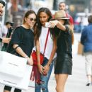 Joan Smalls Impromptu Photoshoot In Nyc