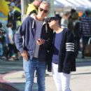 Selma Blair with boyfriend David Lyons out in Studio City