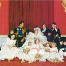 Lady Diana Spencer and Prince Charles wedding - 29 July 1981 - 454 x 377