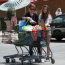 Teri Hatcher spent the day out in Studio City, California on April 6, 2012