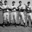 Charlie Keller, Tommy Henrich, Joe DiMaggio & Joe Gordon