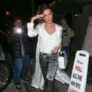 Kate Beckinsale is seen leaving Catch Restaurant on January 9, 2017