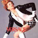 Kristen McMenamy - Versace Ads