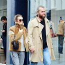 Kara Tointon with husband out in Notting Hill - 454 x 444