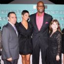 Alonzo Mourning and Tracy Wilson