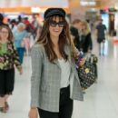 Delta Goodrem – Arrives at Airport in Adelaide