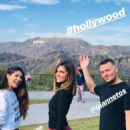Maria Menounos in Tights Hiking in Hollywood – Instagram Pics - 454 x 807