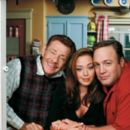 Jerry Stiller, Leah Remini and Kevin James in The King of Queens.