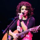 Katie Melua - Apr 04 2008 - Performs Live On Stage At Le Palais Des Congres In Paris