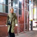 Martha Huntwith her dog out in NYC