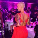 Amber Rose Attends the 2017 MTV Movie & TV Awards at the Shrine Auditorium in downtown Los Angeles, California - May 7, 2017 - 454 x 681