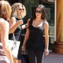 Kim Kardashian Going To A Gym In Calabasas