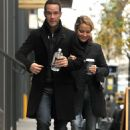 Becki Newton - A Morning Coffee Run To Dean And DeLuca In Manhattan 11.11.09