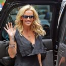 Jenny McCarthy Leaving Siriusxm Studios In Nyc